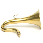 picture shows one piece ear trumpet