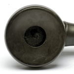 earpiece view of ear trumpet