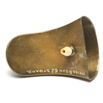 picture shows auricle ear trumpet