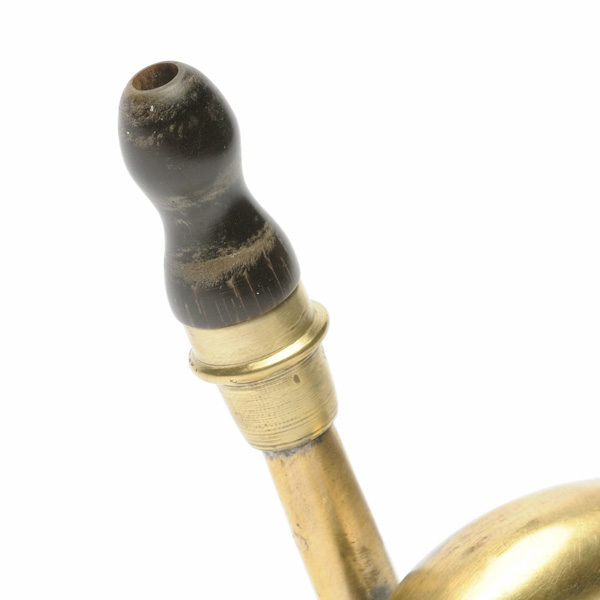 picture shows bugle ear trumpet @ EarTrumpets.co.uk